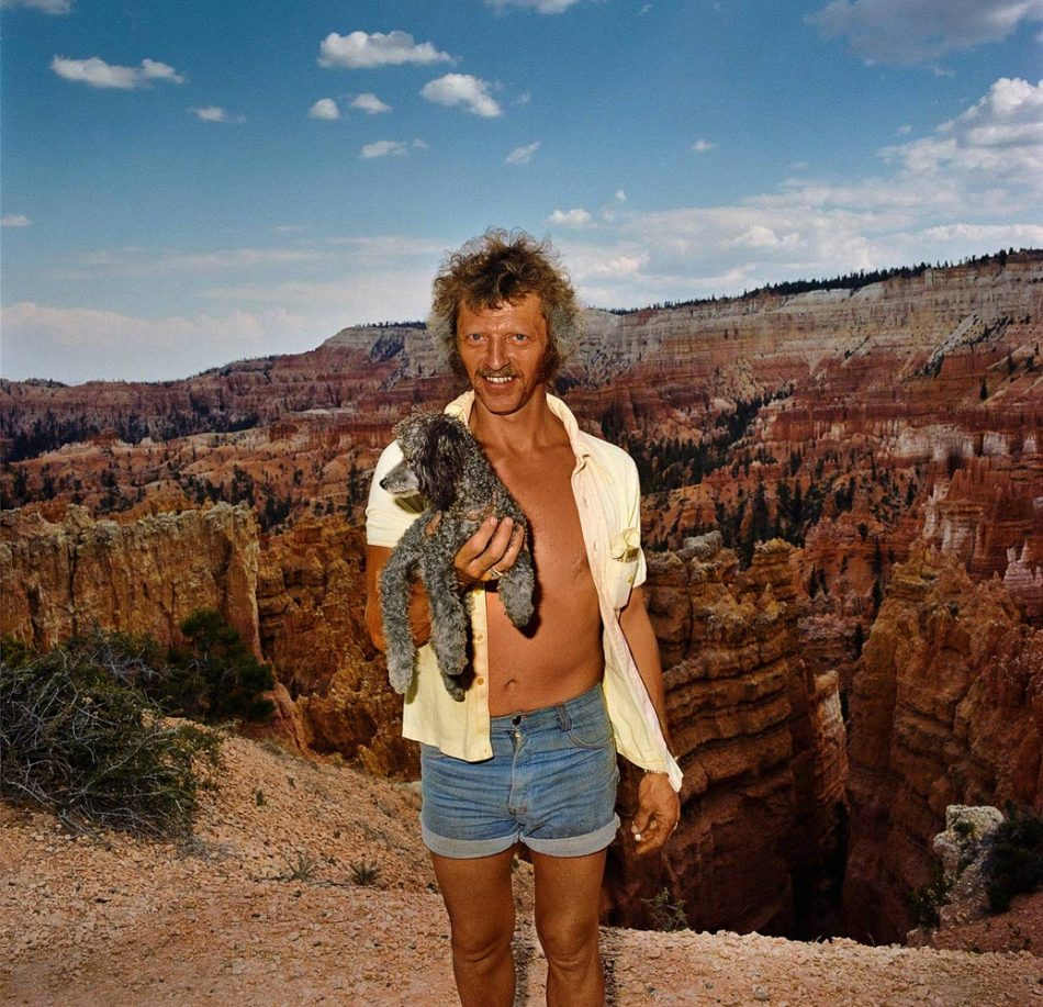 roger-minick-man-with-dog-at-sunset-point-bryce-canyon-national-park-ut-19801