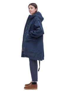 3c2d048cc2481 Hunter Coat (navy) - You Must Create (YMC)