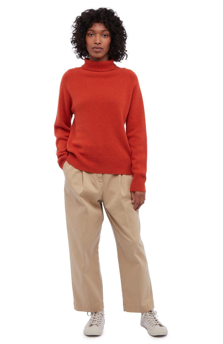 8c11afe50b4a9c Cottage Cashmere Roll Neck (orange) - You Must Create (YMC)