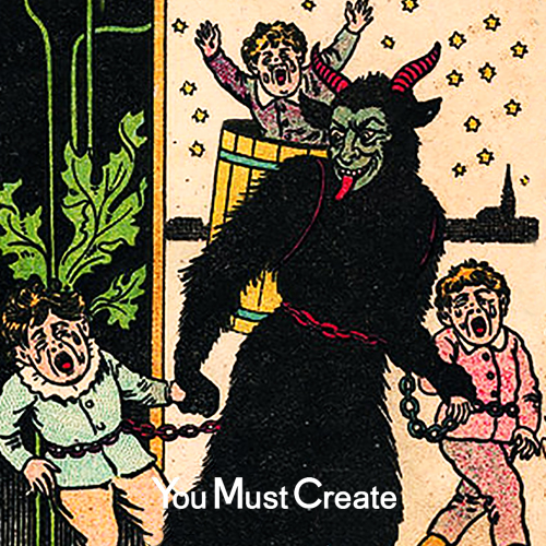 krampus-disco-you-must-create-playlist-spotify-2018-winter-christmas