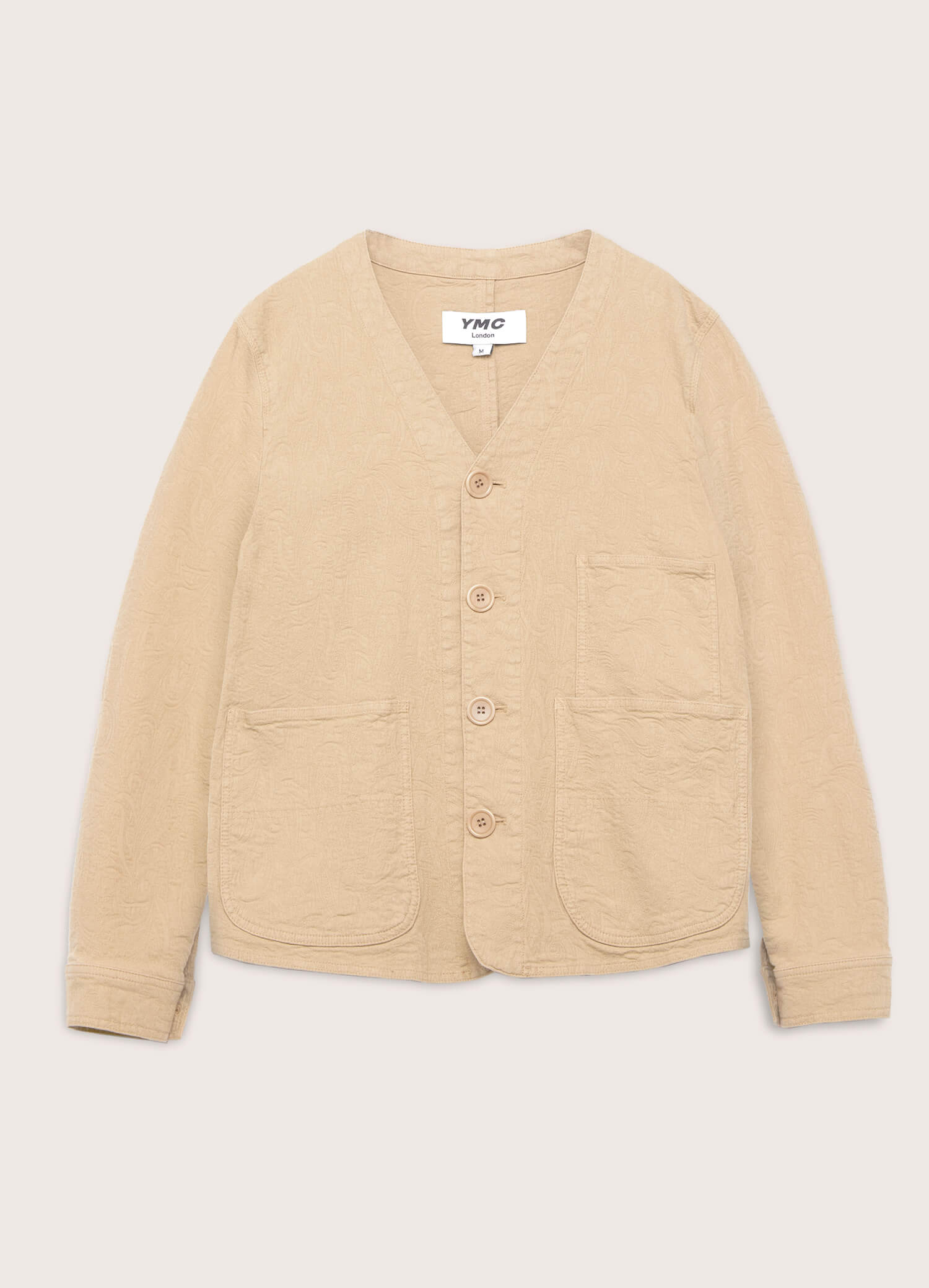 Farm Cotton Paisley Jacquard Jacket Sand