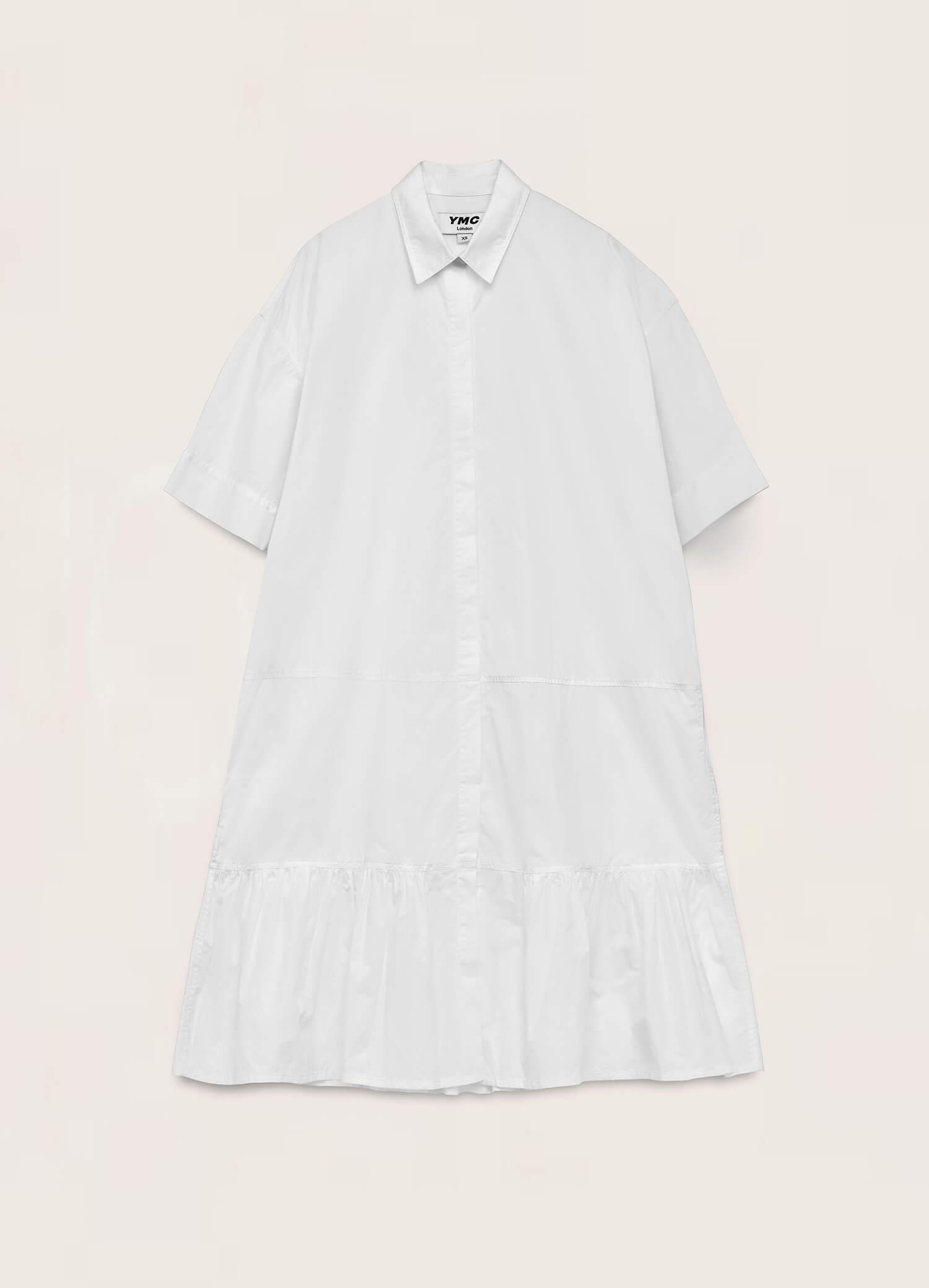 Luna Organic Cotton Dress White