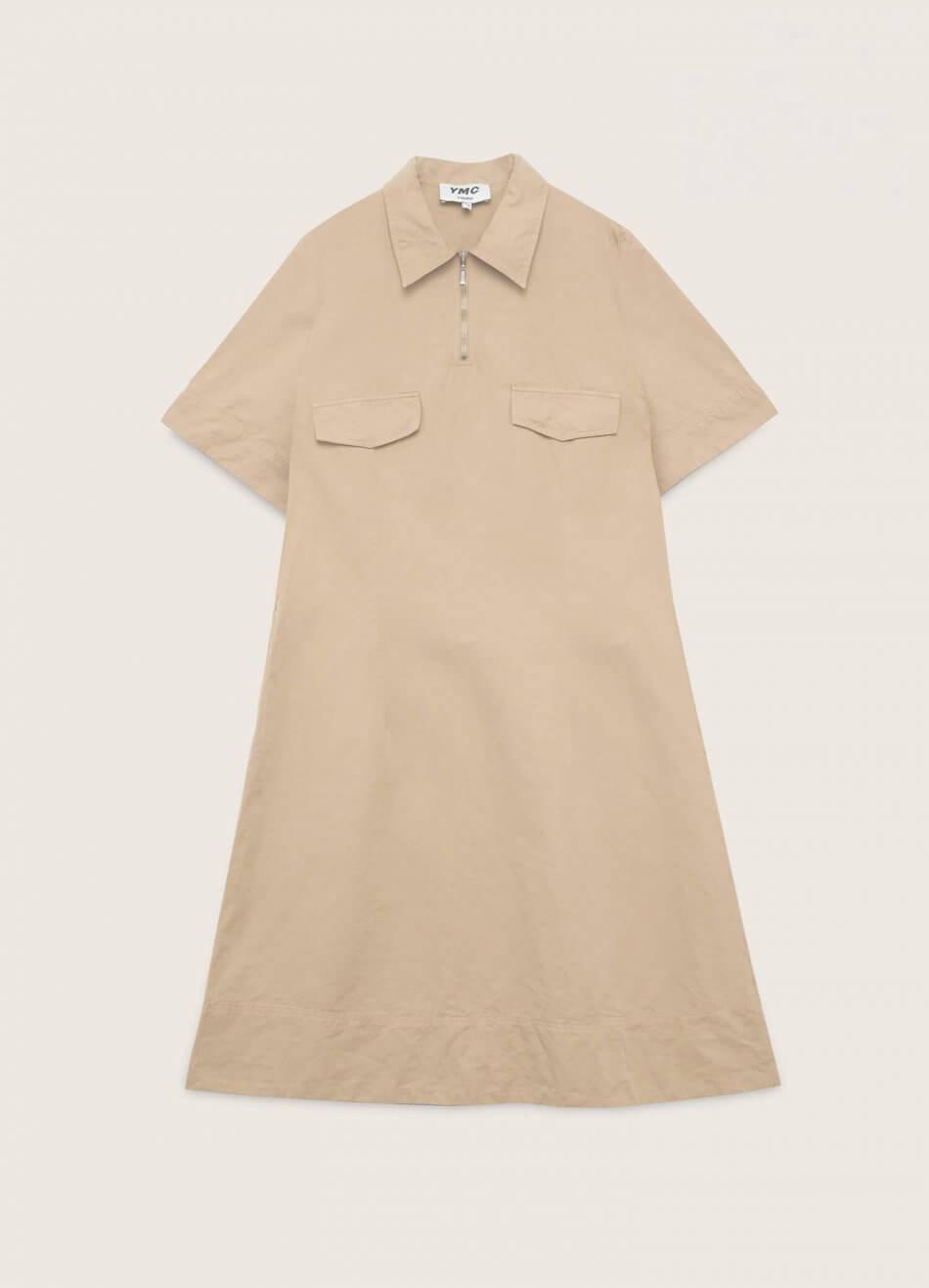 Harvest Cotton Linen Dress Sand