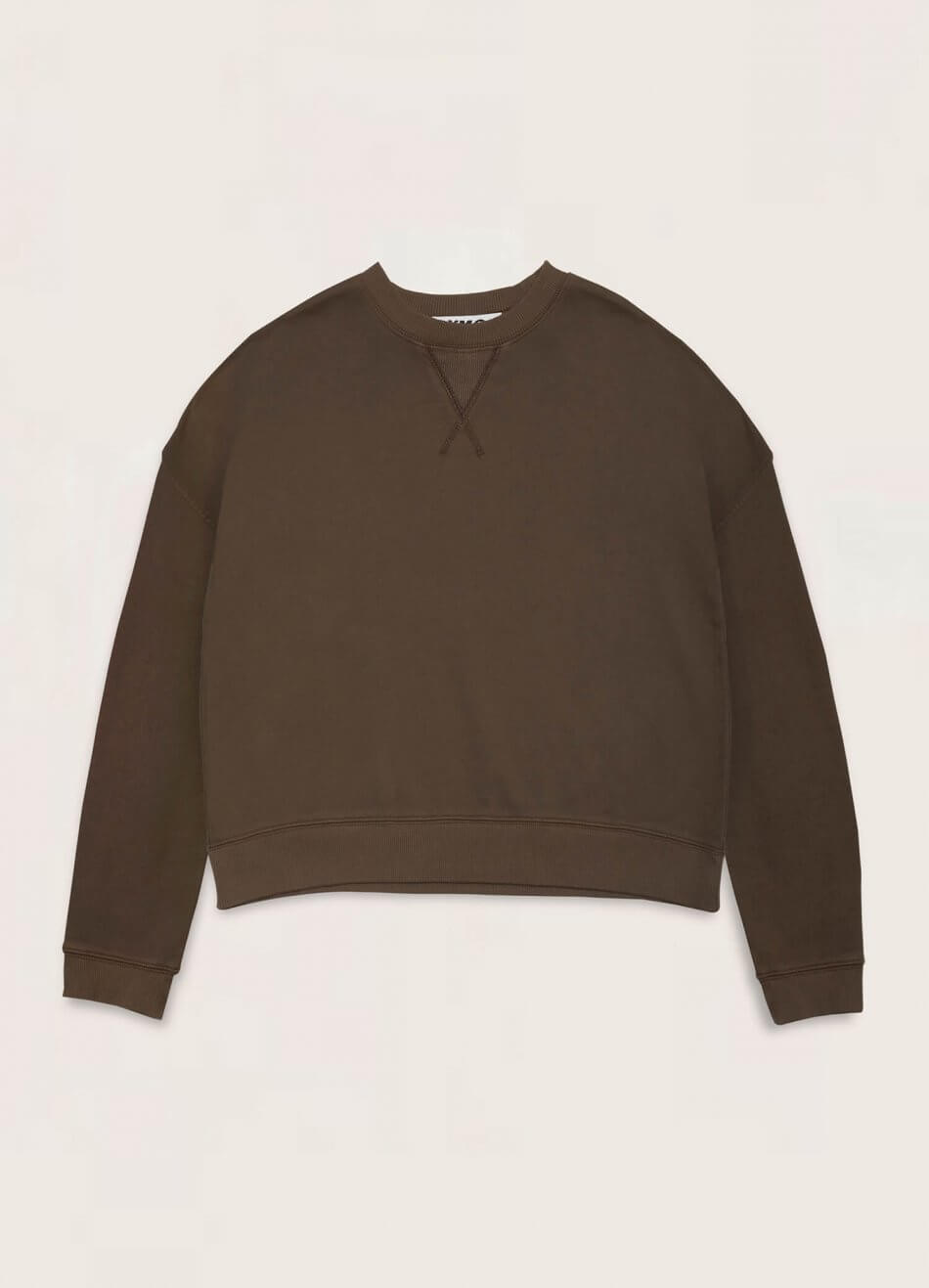 Almost Grown Cotton Loopback Sweatshirt Olive