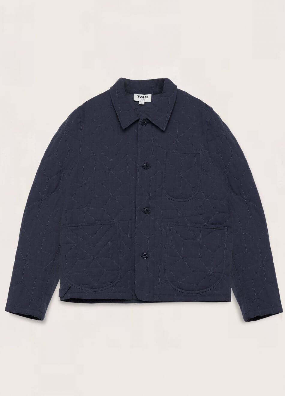 Diddy Cotton Flax Jacket Navy