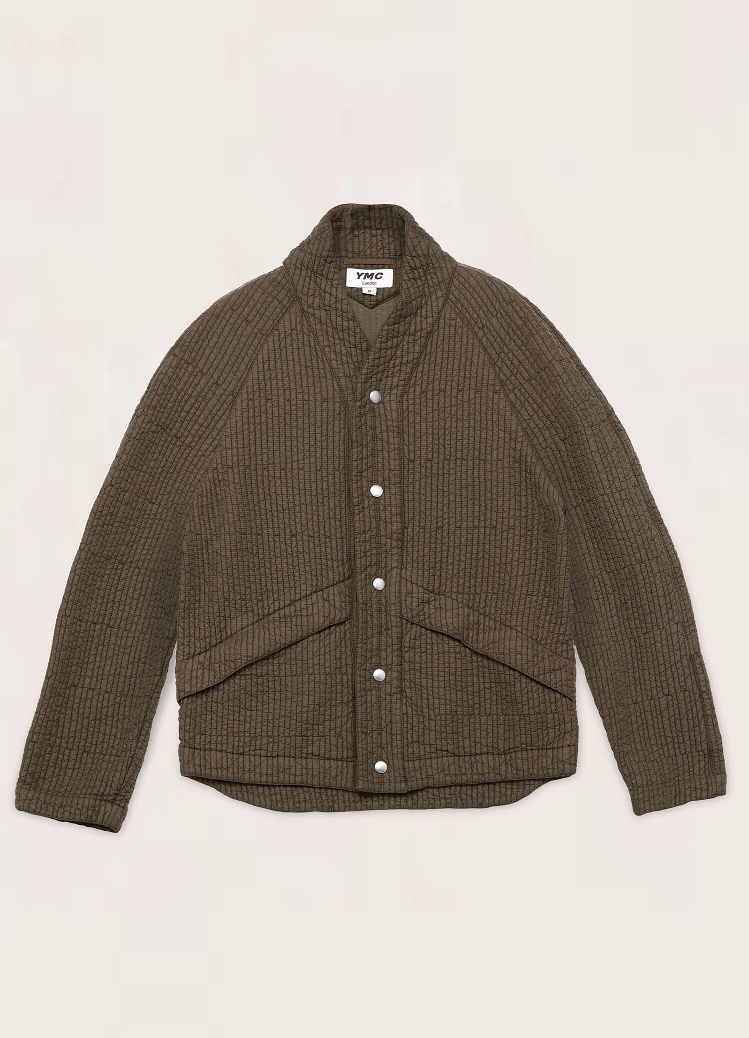 Erkin Quilted Jacket Olive