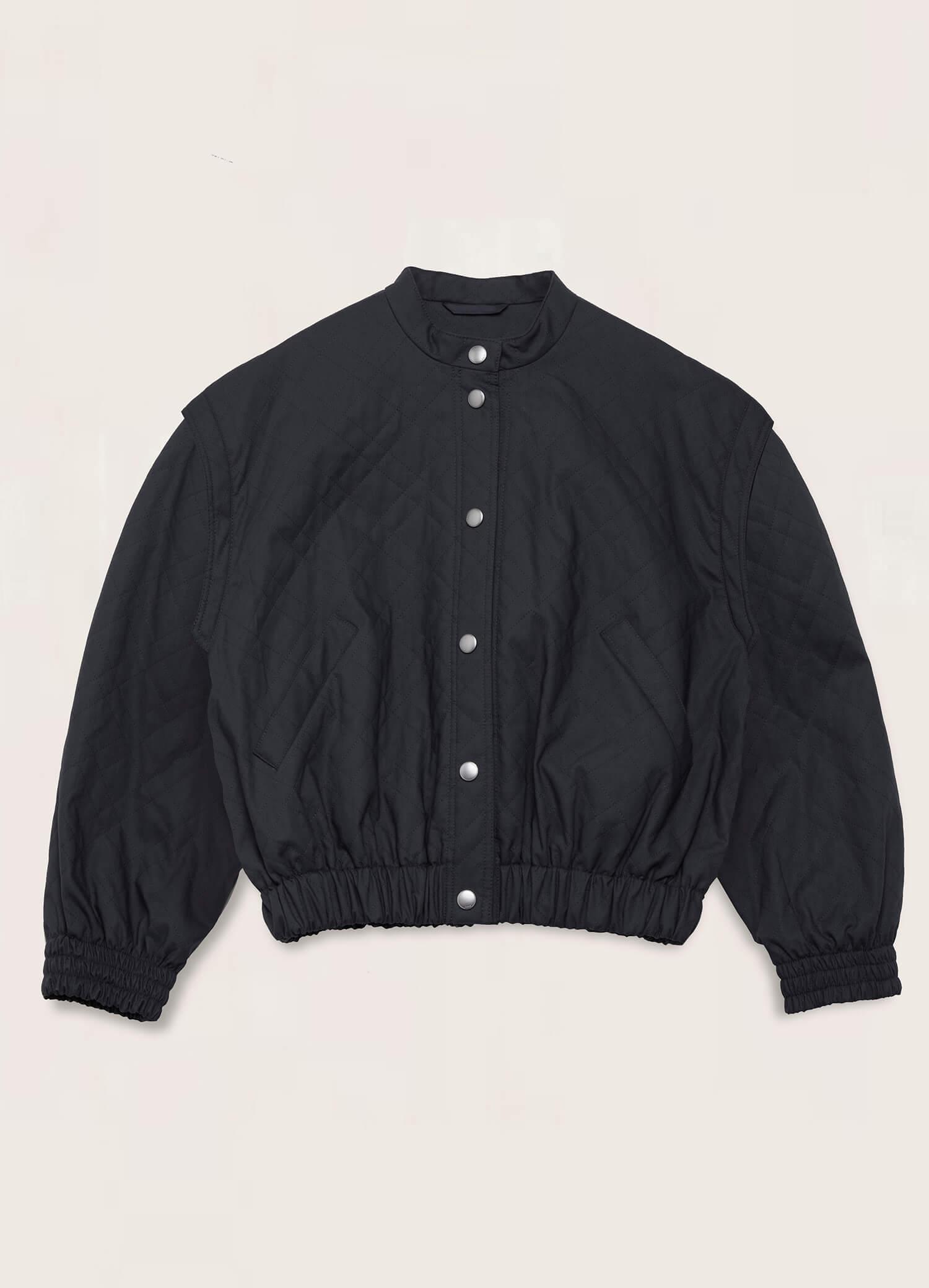Jordan Bonded Cotton Jacket Navy