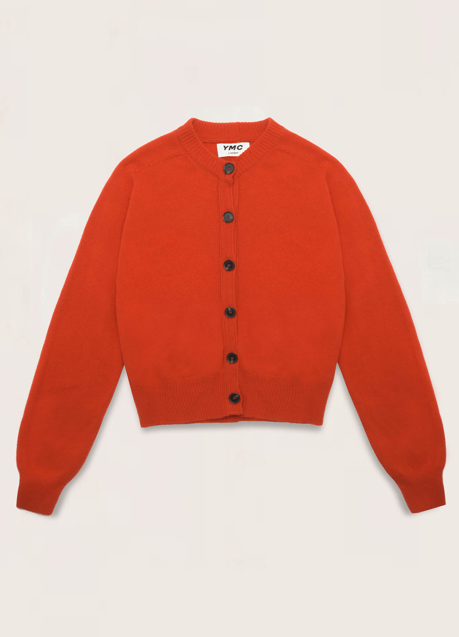 Ramona Cotton Cashmere Cardigan Red