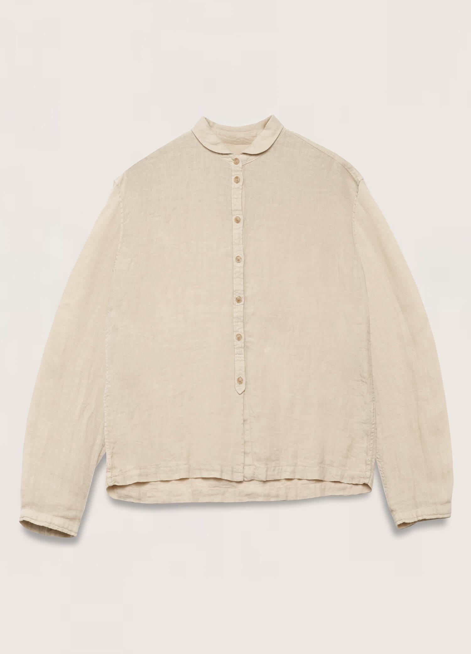 Marianne Linen Shirt Ecru