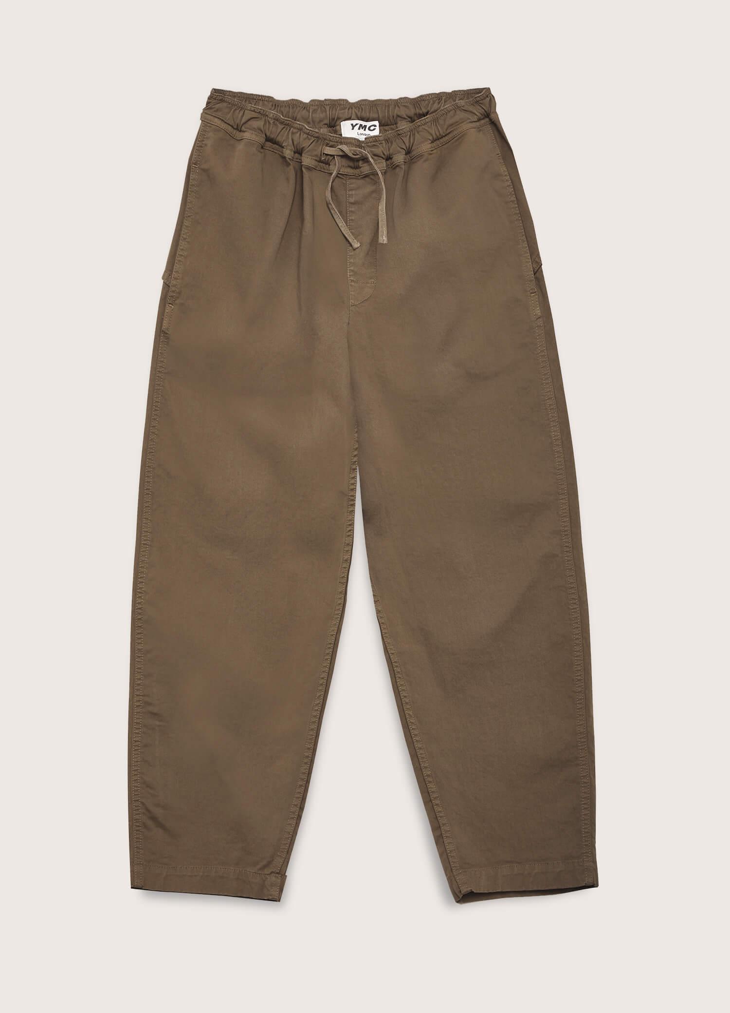 Alva Cotton Twill Skate Trousers Olive