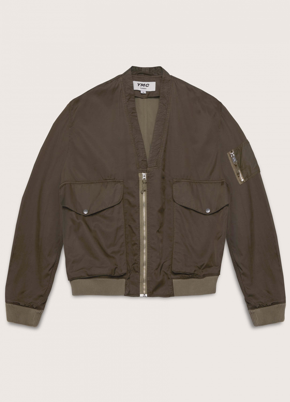 Paninaro Bonded Cotton Jacket Olive